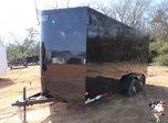 2021 Haulmark 7 x 16 Transport V-Nose Enclosed Cargo Trailer  for sale $7,599