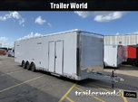 2020 Cargo Mate ALUMINUM Eliminator 34' Race Trailer Bath Pk  for sale $32,450