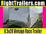 8.5x28 Vintage Trailers | Racing Trailer