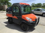 Kubota RTV 1100 4x4 Diesel Utility Cart  for sale $4,000