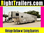 8.5x53 Vintage Outlaw Living Quarters Trailer - Contact Sell