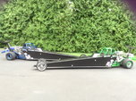 2 Gorgeous 2014 Junior Dragsters - Blue and Green-Make Offer  for sale $18,000