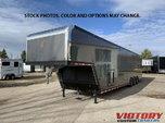 2022 inTech 44' Aluminum Gooseneck Race Trailer - Wide Body  for Sale
