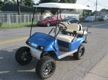 "2008 EZGO GOLF CART 8"" LIFTED BIG TIRES WHEELS ELECTRIC  for sale $4,500"