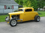 32 Ford  3W coupe Hot Rod  for sale $45,000