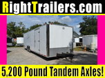 Like New 28ft CargoMate Race Trailer w/ Interior Cabinets