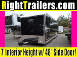 28ft Black ATC RAce Trailer w/ 6000# Torsion Axle