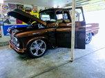 1956 chey pickup rare fleet side