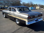 Nice Fully Tubbed Clean Pro-Street 1958 Ford Custom 300   for sale $21,000