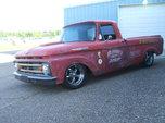 1962 Ford unibody truck hot rod, rat rod, custom