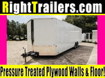 28ft Continental Cargo Race Trailer w/ Tandem Axles