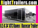 8.5x34 ATC Quest | Race Car Trailer