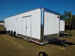 32' Cargo Mate Eliminator SS Race Trailer