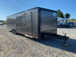 2022 Formula 8.5x30 Velocity Enclosed Race Trailer 7' Interi