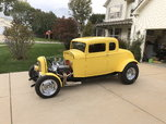32 Ford American graffiti tribute car