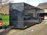 2018 8.5x24 Enclosed Trailer (loaded)  for sale $10,500