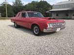1964 Plymouth belvedere max wedge tribute