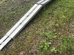 Trailer ramps aluminum fold up  for sale $375