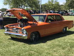 1967 pro street nova trade, chassis works, efi pro, blower