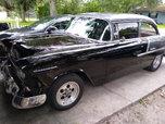 55 Chevy Bellaire 2 Dr sedan