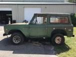 1972 Ford Bronco  for sale $6,500