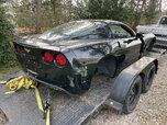 2008 corvette shell w/title race car  for sale $2,500