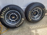 Grand National Rims/Drag Radials  for sale $300