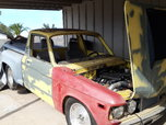 1977 Chevy Luv Pro Street 10.5 Tire Turbo LS project