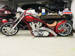 """Independent Cycle Inc. Lowlife Custom Chopper, 147"""" Eng"""