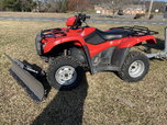 13 Honda TRX500 w/PowerPlow