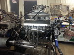 Brodix 5.0 bore space BBC block w/cam, rods, pistons   for sale $3,800