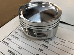 8) Small Block Ford 4.125 bore Dish Pistons/Buttons  for sale $400