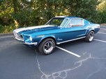 1968 Ford Mustang  for sale $51,000