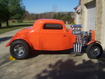 1934 Ford 3 Window Coupe  for sale $62,500