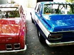 2. 64hemi cars, rollers