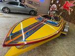 1972 SANGER Bubble Deck Flat Bottom Jet Boat ALL NEW  for sale $42,500