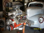 WILLYS GASSER PROJECT WITH BLOWER MOTOR