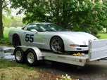 1999 C5 Corvette Track Day Car + Trailer, roller  for sale $10,000