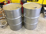 Stainless Steel fuel drums  for sale $980