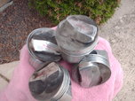 10 TRW BB chevy used pistons  for sale $60