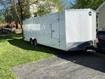 2019 24' enclosed trailer   for sale $6,200