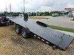 83 X 20 ELECT TILT OPEN CAR TRAILER   for sale $6,500