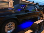 85 fox body mustang big tire 2 kit nitrous   for sale $16,500