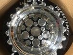 Weld Racing double beadlock rear wheels  for sale $2,500