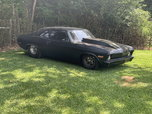 70 nova rolling chassis/2109 pounds with sbc without driver  for sale $22,000