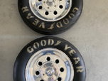 Weld Wheels & Goodyear Tires  for sale $300