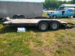18 ft open trailer  for sale $2,500