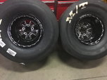 RC comp 15x15x5-4.75 single beadlocks w/tires