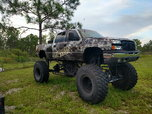 Chevy Silverado 2500 with 12 valve Cummings from a d10  for sale $45,000