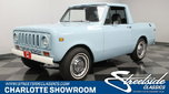 1973 International Scout II  for sale $36,995